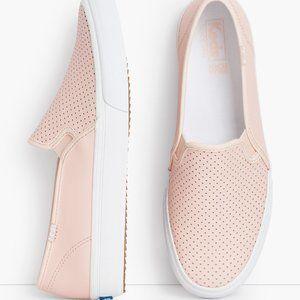 Keds Dble Decker Perforated Slip On Sneakers NWOB